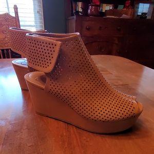 Wedge Platform Peep Toe